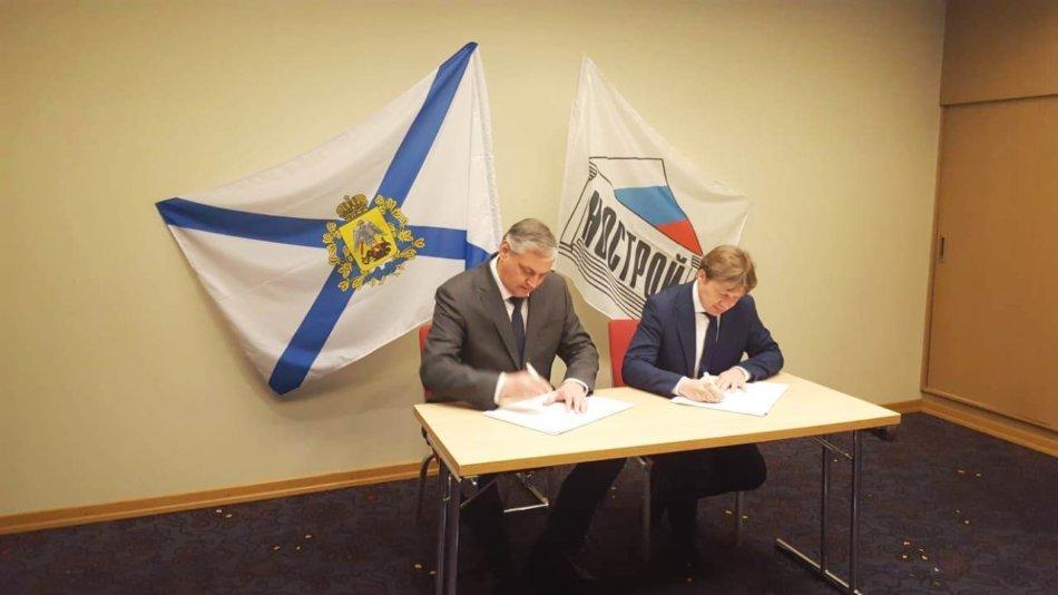 Подписано Соглашение о сотрудничестве между Правительством Архангельской области и Национальным объединением строителей